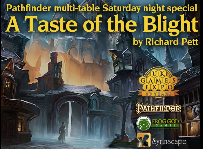 A Taste of the Blight by Richard Pett
