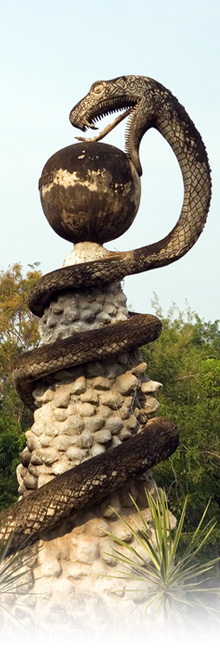 Snake Temple 1
