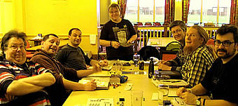 Chris Brockley-Blatt wrangles halflings and Venture Lieutenants
