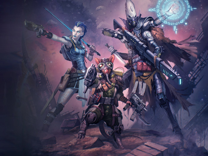 Three new classes for Starfinder